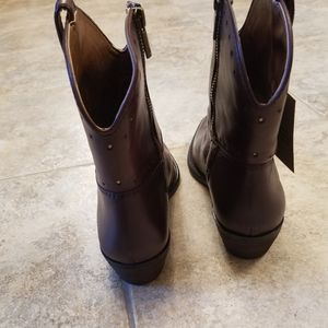 Lucky Brand Shoes - New LUCKY BRAND Leather Cowgirl Western NWT Boots